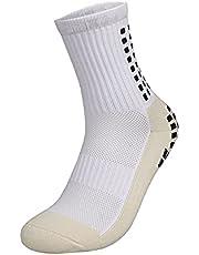 جوارب بطول حتى الركبة، مضادة للانزلاق، مثالية لكرة القدم، جوارب غير قابلة للانزلاق لكرة القدم وكرة السلة والهوكي
