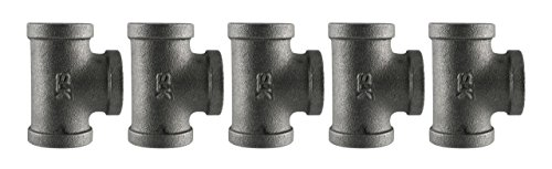 Black Cast Pipe Fitting, Tee, 1
