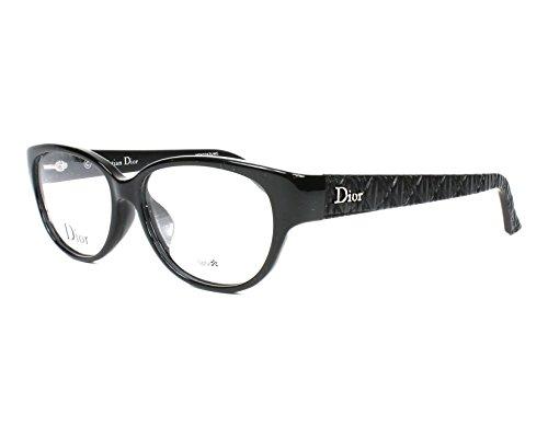 Dior Stripes Christian (Optical frame Christian Dior Optyl Shiny Black - Black stripe (CD7070J BIL))