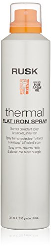 Iron Spray - RUSK Designer Collection Thermal Flat Iron Spray with Argan Oil, 8.8 fl. oz.