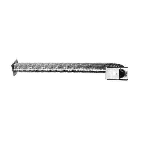 Chim Cap Corp. Flex-All Outside Side Wall Fresh Air Kit -3''