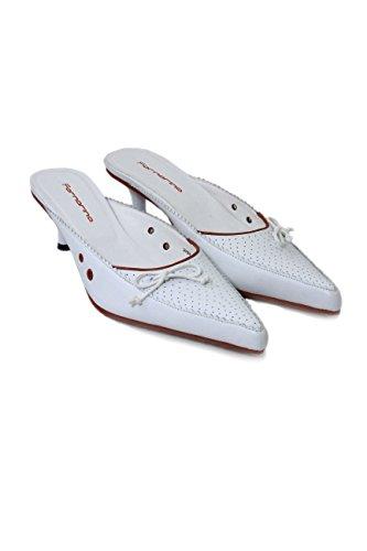 de multicolor Fornarina Zapatos multicolor mujer para de Bianco vestir Piel media qFUBwF