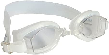 Kiefer Optical Swim Goggle with Diopter and Anti-Fog Lens Silver 690030-Slv-1.5