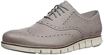 Cole Haan Men's Zerogrand Wing Oxford, Ironstone Closed/Ivory, 7 M US
