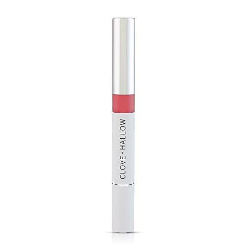 CLOVE + HALLOW Lip Glaze - Natural Organic Cruelty Free Lip Gloss Lip Balm - Prep