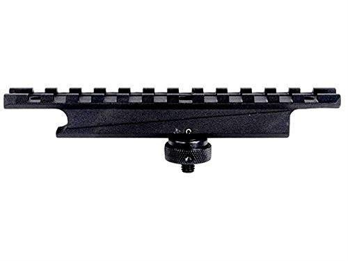 AR-15 CARRY HANDLE PICATINNY RAIL SCOPE MOUNT BASE ALUMINUM - Rail Handle Carry Mount