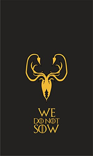 Game of Thrones Flag | Greyjoy Banner We Do Not Sow | Long Lasting Flag (2.5×4 ft / 75×125 cm) For Sale