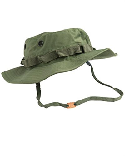 Boonie Hat Olive Drab - Mil-Tec Trilam. Boonie Hat (61cm (X-Large), Olive Drab)