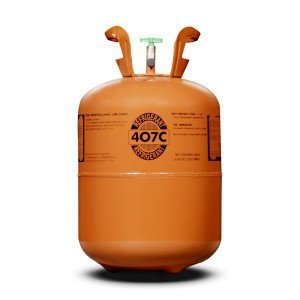 R407C Refrigerant in 25lb Disposable Tank by Generic