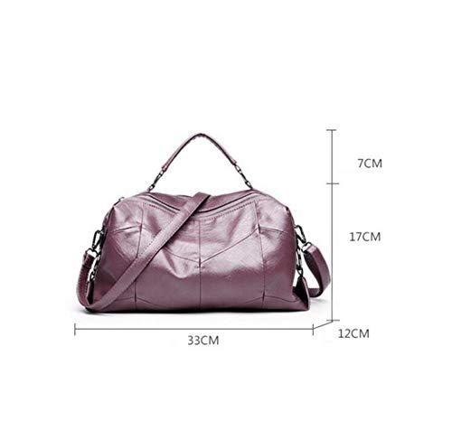 Unique Peau Véritable à épaule A Sac Couture Multicouche PU Fille Sac Sac Main Sxuefang Messenger qvwT5dZv