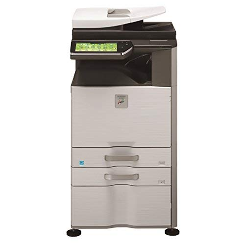 Refurbished Sharp MX-2610 Tabloid-size Color Multifunction Printer – Copy, Print, Scan, Document Filing, 2 Trays, Cabinet, Auto Duplex, 26 ppm (Certified Refurbished)