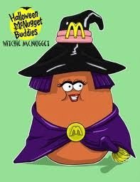 Happy Meal Halloween McNugget Buddies Witchie McNugget Toy 1992