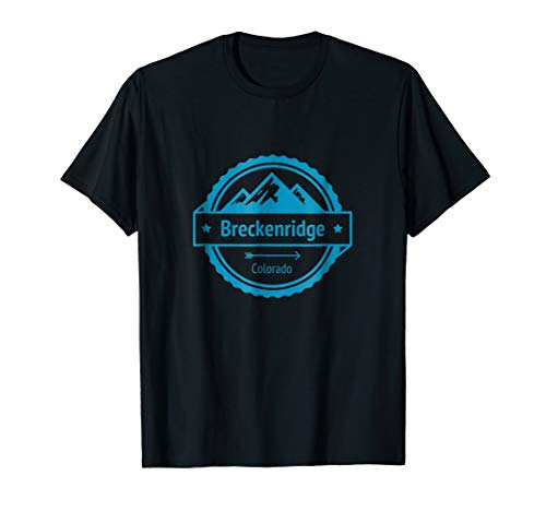 Colorado Hiking and Camping - Breckenridge T-Shirt (Best Dispersed Camping In Colorado)