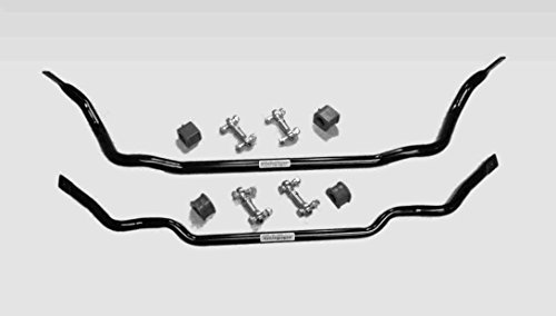 4 Corvette Sway Bars Front and Rear PTFE Heim End Links (Corvette Front End)