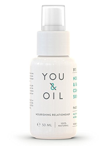 You & Oil Facial Oil for Nourishing and balancing combination skin 50ml Made in Europe