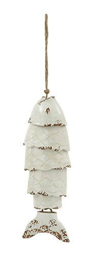 Deco 79 76559 Ceramic Fish Wind Chime 5″ W, 20″ H Review