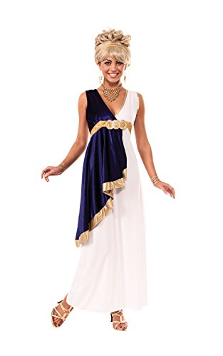 Rubie's Costume Women's Grecian Adult Costume, Multi, Small (Greek Goddess Sandals)