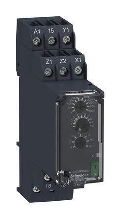 Schneider RE22R1MYMR Multi-function Timing Relay 0.05s/…300h 1C//O 24/…240V AC//DC