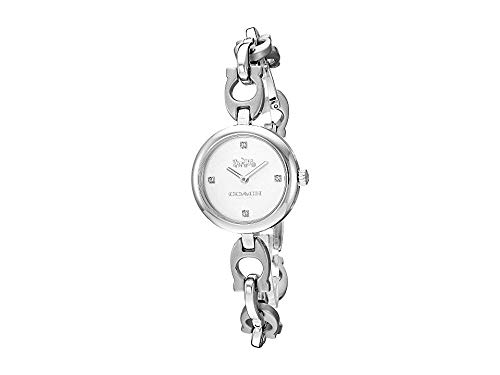 COACH Women's Signature Chain - 14503077 Stainless Steel One Size ()