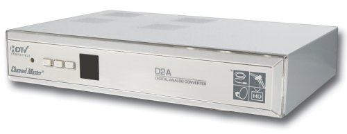- Channel Master CM-7000 Digital to Analog TV Converter Box with S-Video