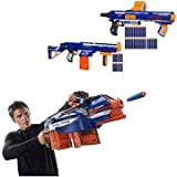 Nerf N-Strike Set of 3 Elite Blasters Value Bundle Hail-Fire Blaster Retaliator Blaster Rampage Blas