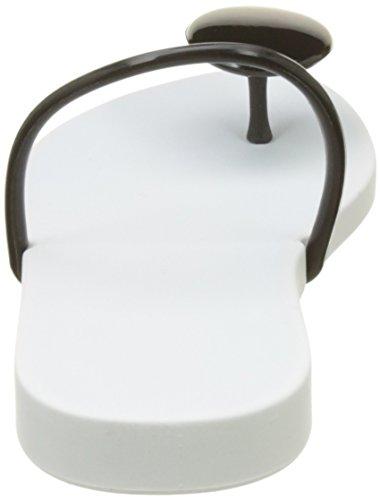 dedo White Philippe Starck U Thing Sandalias Ipanema Blanco Ii de Black Fem Mujer P8wx5qd
