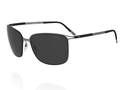 Silhouette Sunglasses Titan Contour (8153 MATTE GUNMETAL - Titan Silhouette Sunglasses