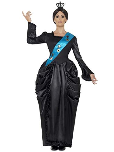 Smiffys Women's Queen Victoria Deluxe Costume, Dress,