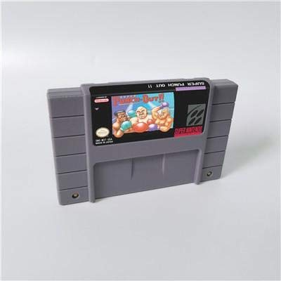 Game card - Game Cartridge 16 Bit SNES , Game Super Punch Out !! - ARPG Game Cartridge Battery Save US ()