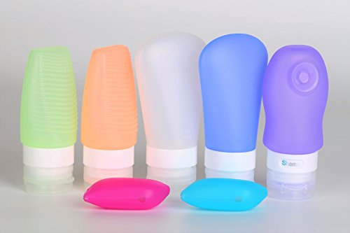 BPA-Free TSA-Approved Leak-Proof Silicone Travel-Sized Refillable (Refillable Travel Toothbrush)