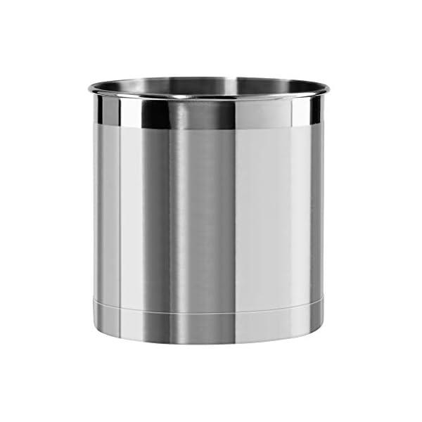 Oggi Jumbo Stainless Steel Utensil Holder 1