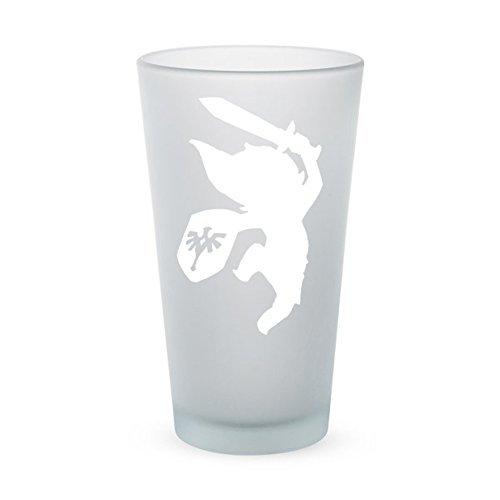 The Legend of Zelda – Young Link – Frosted Pint Glass