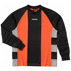 (Reusch Barcelona II Longsleeve Goalkeeper Jersey (Medium, Orange/Black/Grey))