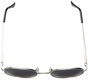 A.J. Morgan Bradley Round Sunglasses, Silver, 50 mm
