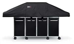 Amazon.com : Weber 7549 Premium Cover, Fits Genesis Grill with ...
