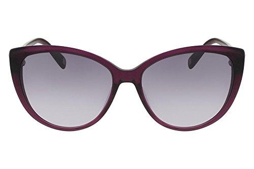 Óculos De Sol Nine West Nw561S 515/58 Roxo Transparente