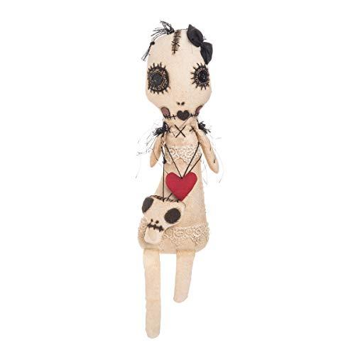 Gallerie Ii Halloween (GALLERIE II Hexine Monster Girl Halloween Fall Harvest Art Doll Décor Decoration Hexine Monster Girl)
