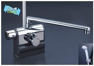 KVK KF3008LR3 デッキ形サーモスタット式シャワー 300mmパイプ 左ハンドル仕様