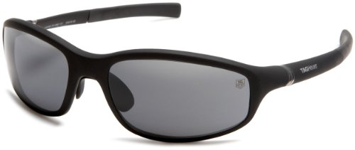 TAG Heuer Men's 27 Degree 6002-101 Sunglasses,Black Frame/Grey Lens,one - Degree With Sunglasses