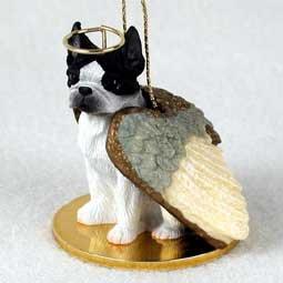 - Boston Terrier Angel Dog Ornament