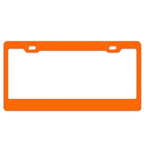 HHAT Automotive License Plate Frame Halloween Border