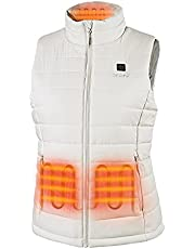 ororo 2021 Women's Heated Vest with Battery Pack