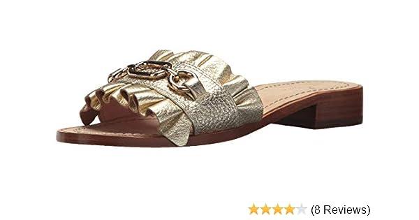 Fine Ralph Lauren Burgundy Leather Slides Signature Tassel Sz 7 Clothing, Shoes & Accessories Women's Shoes