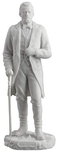 Ulysses S. Grant Standing with Sword Statue White Finish
