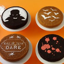 Martha Stewart Cake Stencils Halloween (Martha Stewart Crafts Halloween Vampire Cake)
