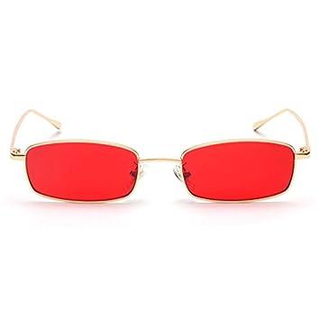 KLXQW Pequeñas Gafas De Sol con Montura Metálica Steampunk ...