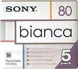 Sony Bianca 5-pack 80 Min. MiniDiscs