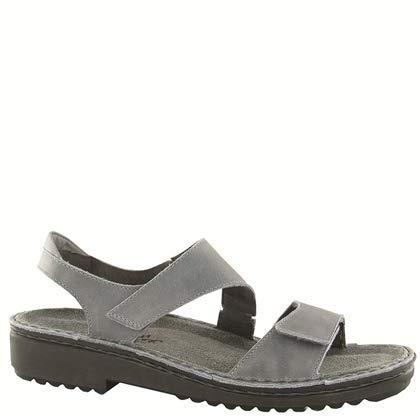 Naot Footwear Women's Enid, Vintage Slate Leather, 42 EU/11-11.5 M US