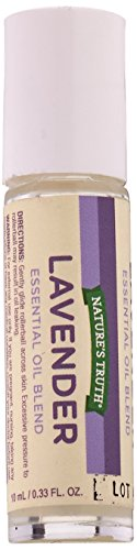 Nature's Truth Essential Oil Roll-On Blend, Lavender, 0.33 Fluid Ounce