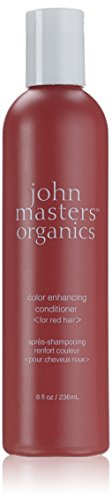 John Masters Organics Color Enhancing Conditioner, Red, 8 Ounce - Red Organic Conditioner